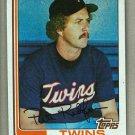 1982 Topps Baseball #309 Pete Redfern Twins Pack Fresh