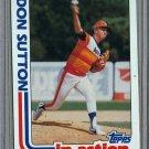 1982 Topps Baseball #306 Don Sutton Astros Pack Fresh