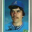 1982 Topps Baseball #296 Bob Walk Braves Pack Fresh