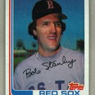 1982 Topps Baseball #289 Bob Stanley Red Sox Pack Fresh