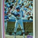 1982 Topps Baseball #279 Bill Russell Dodgers Pack Fresh