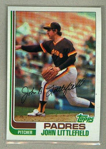 1982 Topps Baseball #278 John Littlefield Padres Pack Fresh