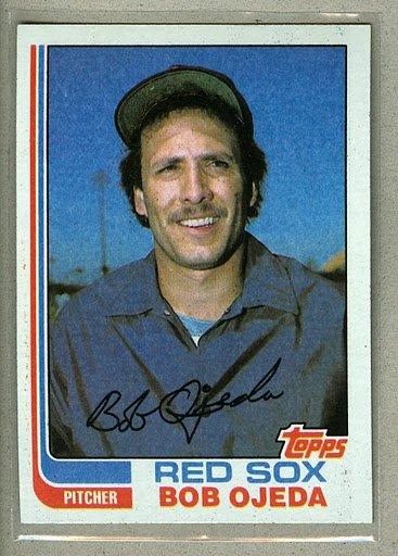 1982 Topps Baseball #274 Bob Ojeda Red Sox RC Pack Fresh