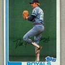 1982 Topps Baseball #264 Dan Quisenberry Royals Pack Fresh