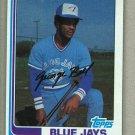1982 Topps Baseball #254 Jorge Bell Blue Jays Pack Fresh