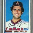 1982 Topps Baseball #251 Fred Lynn Angels Pack Fresh