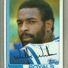 1982 Topps Baseball #230 Willie Wilson Royals Pack Fresh