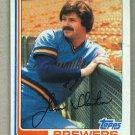1982 Topps Baseball #221 Jim Slaton Brewers Pack Fresh