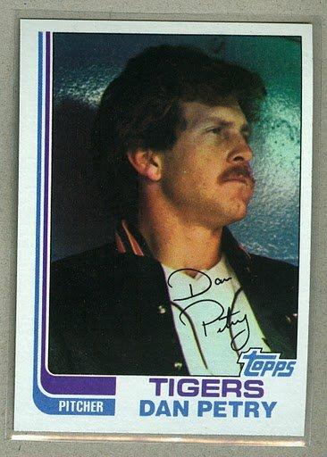 1982 Topps Baseball #211 Dan Petry Tigers Pack Fresh