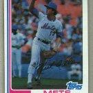 1982 Topps Baseball #205 Neil Allen Mets Pack Fresh