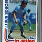 1982 Topps Baseball #201 George Brett Royals Pack Fresh
