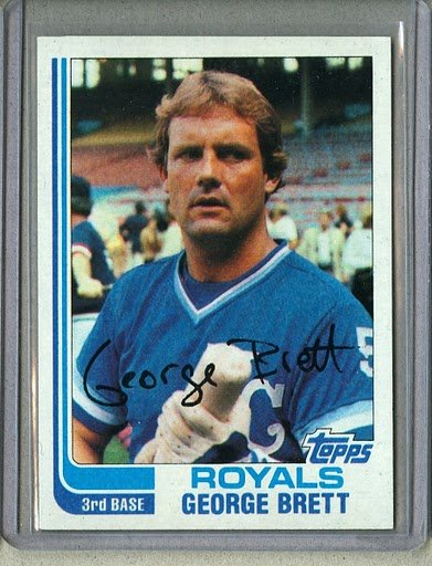 1982 Topps Baseball #200 George Brett Royals Pack Fresh