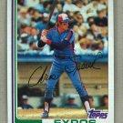 1982 Topps Baseball #198 Chris Speier Expos Pack Fresh