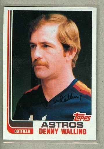 1982 Topps Baseball #147 Denny Walling Astros Pack Fresh