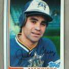 1982 Topps Baseball #130 Julio Cruz Mariners Pack Fresh