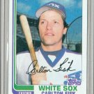 1982 Topps Baseball #110 Carlton Fisk White Sox Pack Fresh