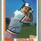 1982 Topps Baseball #107 Wayne Krenchiki Orioles Pack Fresh
