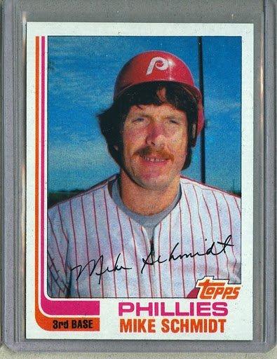 1982 Topps Baseball #100 Mike Schmidt Phillies Pack Fresh