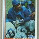 1982 Topps Baseball #93 Larry Hisle Brewers Pack Fresh