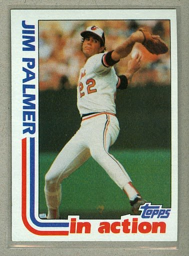 1982 Topps Baseball #81 Jim Palmer Orioles Pack Fresh