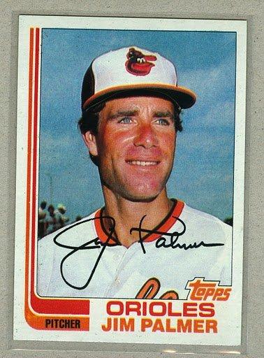 1982 Topps Baseball #80 Jim Palmer Orioles Pack Fresh