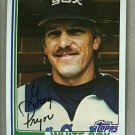 1982 Topps Baseball #76 Greg Pryor White Sox Pack Fresh