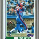 1982 Topps Baseball #70 Tim Raines Expos Pack Fresh