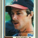 1982 Topps Baseball #55 Rick Burleson Angels Pack Fresh