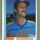 1982 Topps Baseball #52 Larry Andersen Mariners Pack Fresh