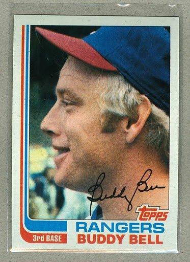 1982 Topps Baseball #50 Buddy Bell Rangers Pack Fresh