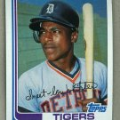 1982 Topps Baseball #39 Lou Whitaker Tigers Pack Fresh