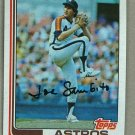 1982 Topps Baseball #34 Joe Sambito Astros Pack Fresh