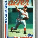 1982 Topps Baseball #31 Tom Seaver Reds Pack Fresh