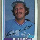 1982 Topps Baseball #19 Ernie Whitt Blue Jays Pack Fresh