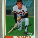 1982 Topps Baseball #17 Darrell Evans Giants Pack Fresh