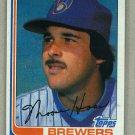 1982 Topps Baseball #12 Moose Haas Brewers Pack Fresh