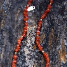 Orange Botswana Agate Necklace