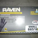 1000 Raven Black Nitrile Powder Free Gloves - (Size S)