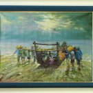 ART ORIGINAL OIL ON CANVAS Came back fully loaded