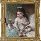 Master paintings-Emile Vernon-Sharing between Friends