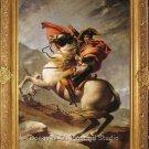 Louis David-Napoleon Croossing the St.Benrnard Pass ART