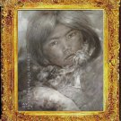 ART ORIGINAL OIL ON CANVAS TIBETAN Nomad Girl SIGNED