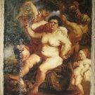 OLD MASTER-Peter Paul Rubens-Bacchus-