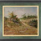 Sketchy Oil Painting Art quality landscape The field
