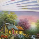 Wholesale lot 9PCS oil paintings-Landscape-24x36""