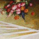 """Wholesale lots 6 oil paintings-Realism flowers-24x36"""""""