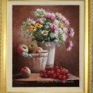 "Quality Art Oil Paintings Still Life Flower 20x24"""