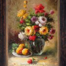 ART Impressionism OIL PAINTING FLOWER Still Life 24x36""