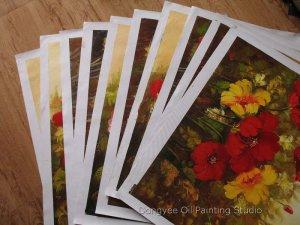 """Wholesale lots 10 oil paintings-Painted flower 20""""x24"""""""