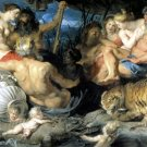 Custom-OLD MASTER-Peter Paul Rubens-The four continents